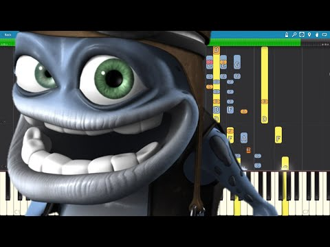 4 Impossible Remix Crazy Frog Axel F Piano Cover Youtube Piano Cover Frog Remix