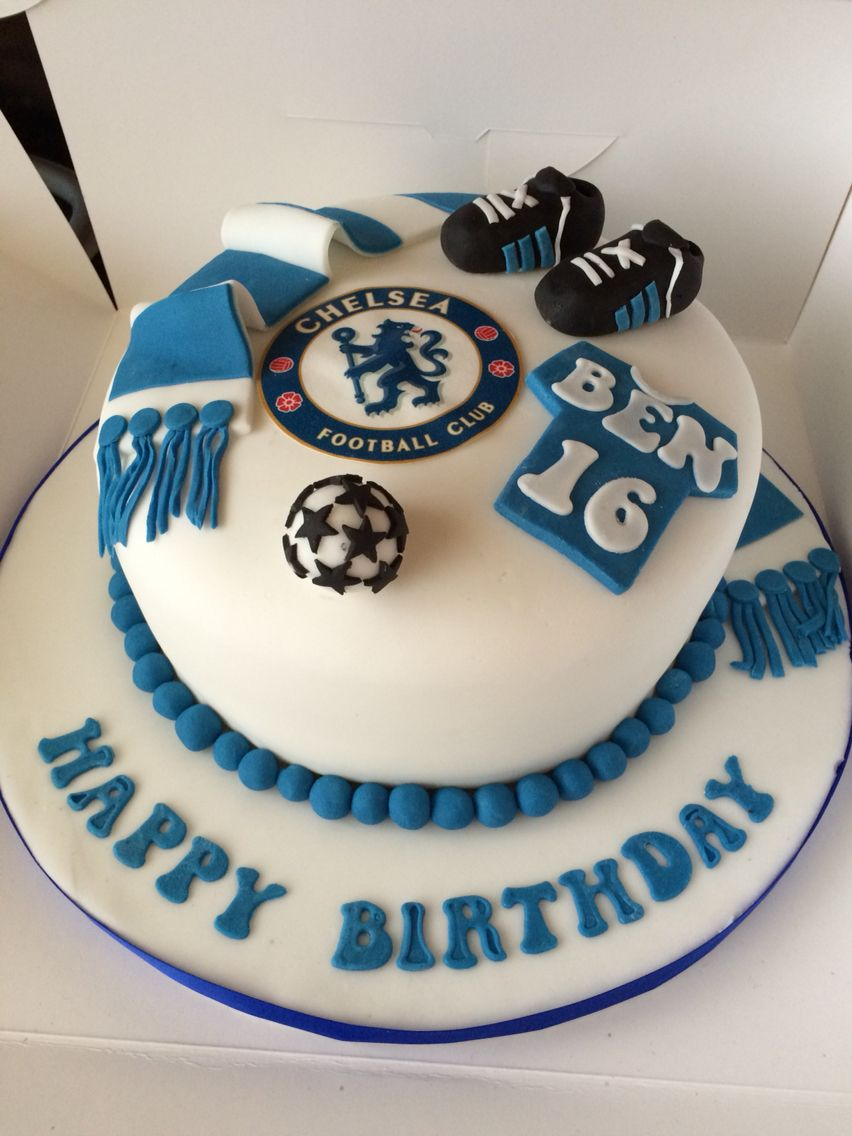 Chelsea Football Cake Everything Creative In 2019