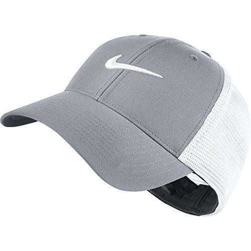 1d1de42c Nike Golf 2016 Legacy 91 Tour Mesh Hat Stretch Fit Mens Golf Cap Wolf  GreyWhite MediumLarge -- For more information, visit image link.