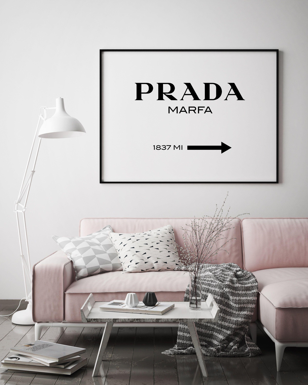 Landscape Prada Marfa Print Prada Marfa Art Prada Marfa Decor Room Decor Home Decor Prada Marfa