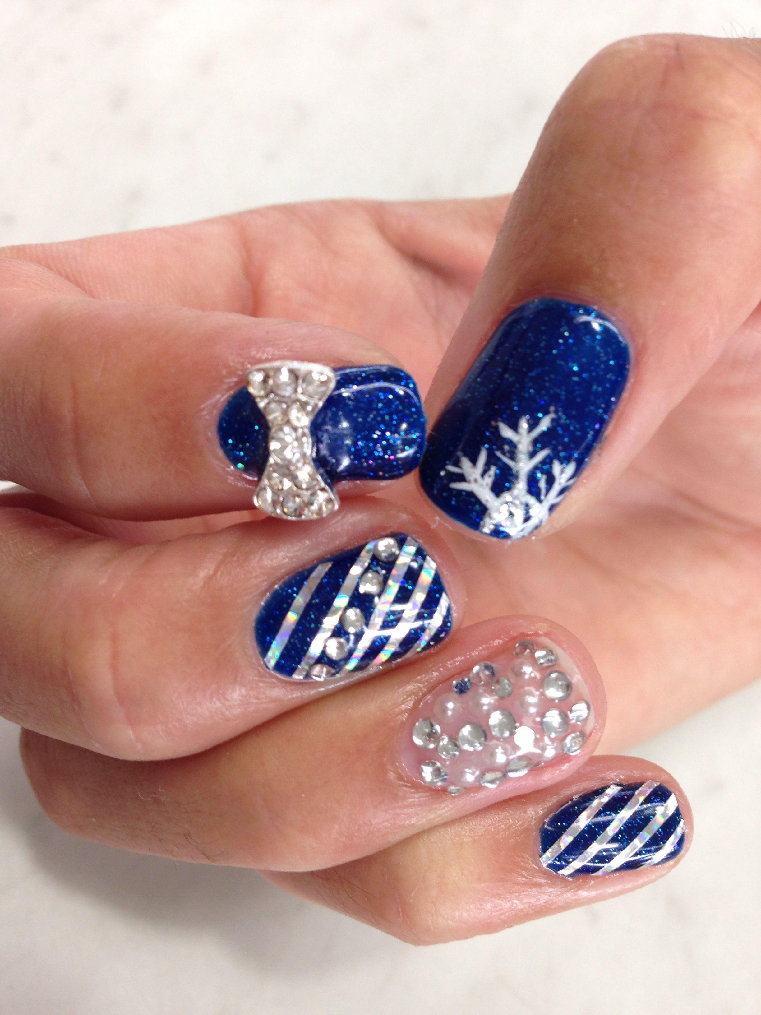 Nail Art Winter Wonderland My Nail Art Pinterest Winter Nails