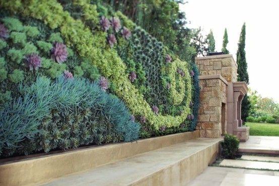 wall garden | The Garden Aesthetic