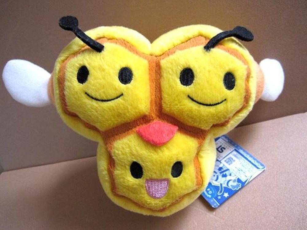 POKEMON Combee UFO Soft Plush Doll Japan Pokedoll Tag
