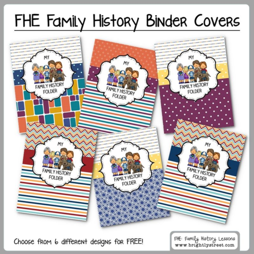 family history family home evening lesson series help teaching