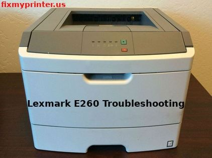 lexmark e260 manual
