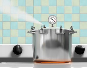 Do not be afraid! Pressure canning and water bath canning are safe ways to preserve your food. The pressure canners of today are not the frightening steam engines of yore. Here's more on home canning, to get you started. From MOTHER EARTH NEWS magazine.