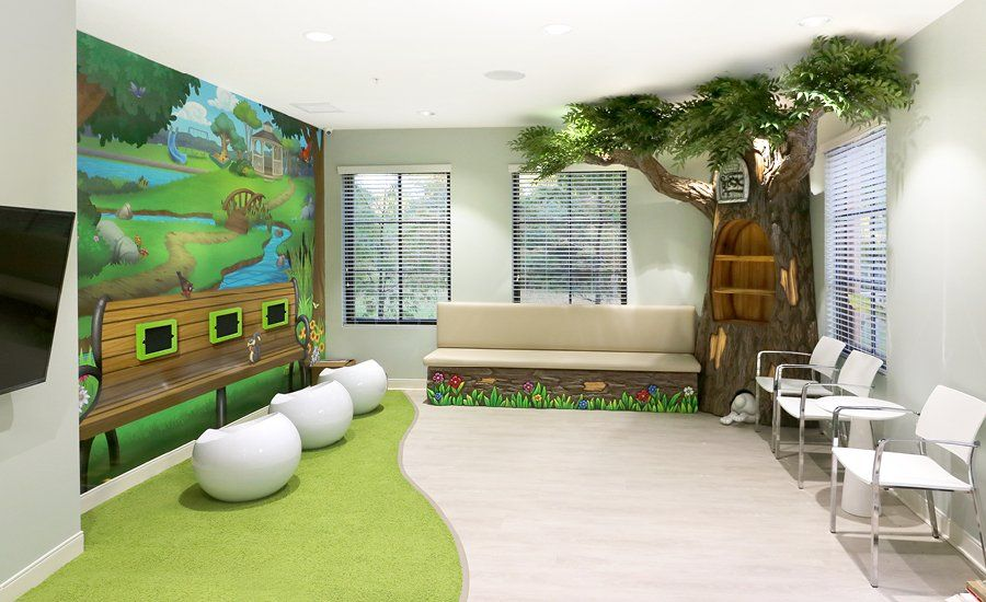 Newest Dental Theming Themed Children's Environments