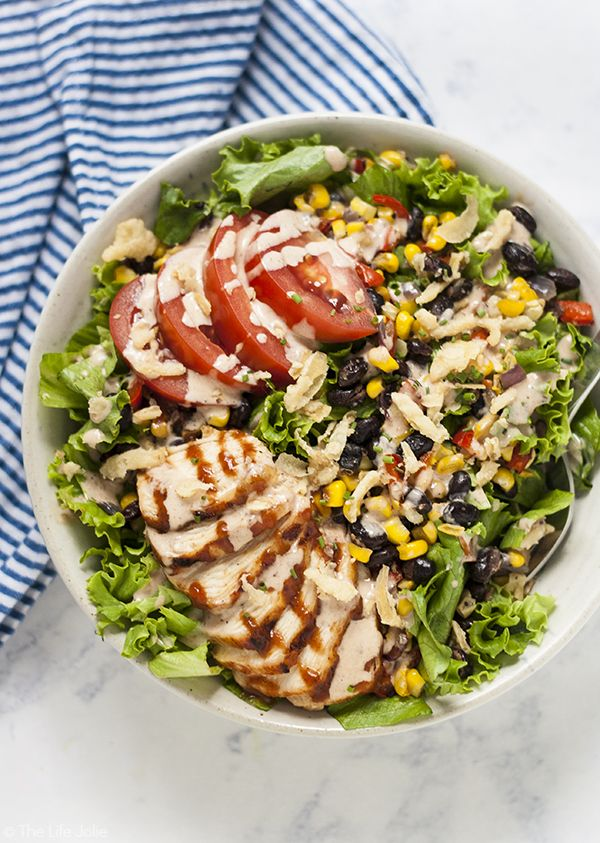 This Copycat Panera Bread Bbq Chicken Salad Recipe Is A