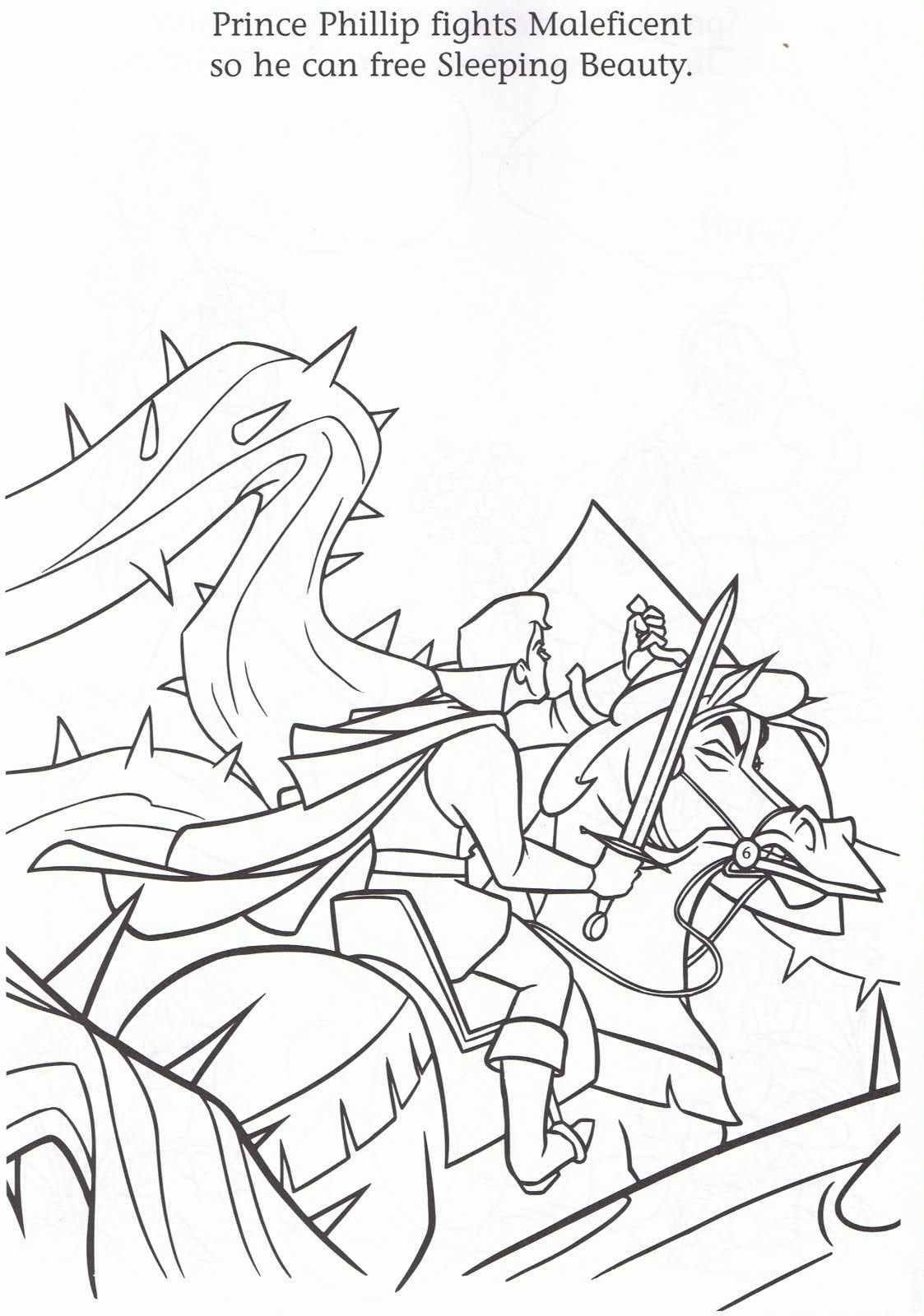 sleeping beauty coloring pages Google sgning Sleeping Beauty