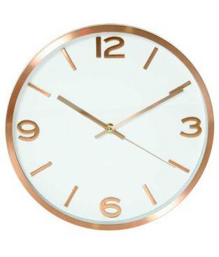 68540e3c26ab Reloj pared cocina cobre grande