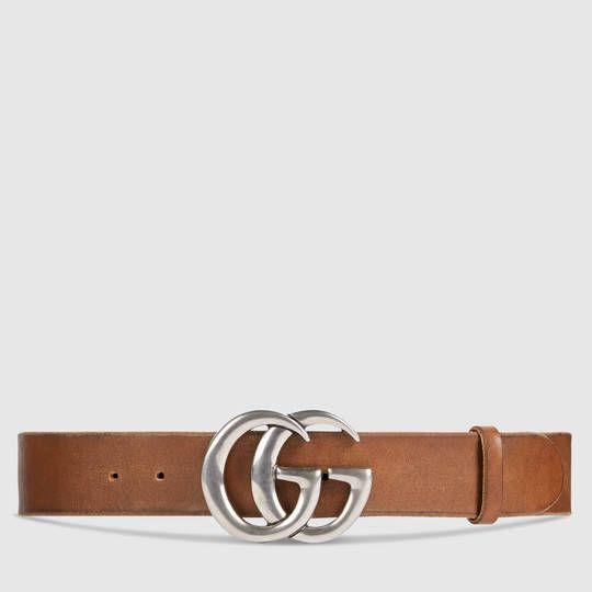7382194e02b Gucci Ceinture en cuir avec boucle double G