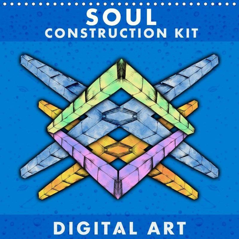 Soul Construction Kit - CALVENDO calendar - #calendar #drawing #art #calvendo #square