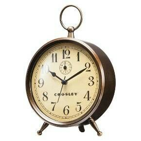 $19.99 - Target | Crosley Analog Clock with Finial - Antique Bronze