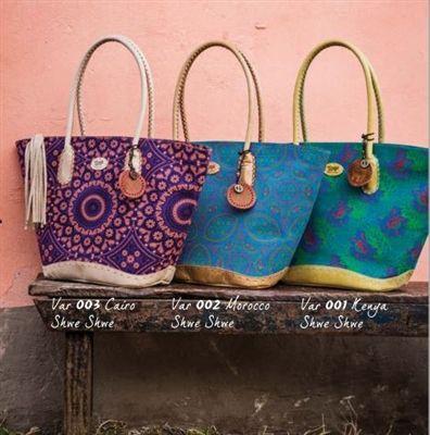 Tsonga Tumi Shweshwe Fabric Handbags For Spring Handmade In South Africa