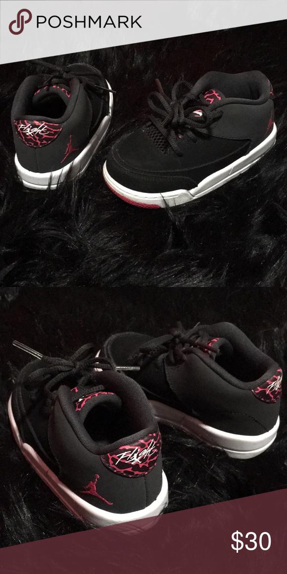 7f90121c9b6 Kids Jordan's! Kids Jordan's size 7c pink gray and black great condition! Jordan  Shoes Sneakers