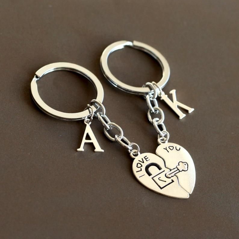 I Love You Keychain Heart Keychain Lock And Key Keychain Boy Friend Girl Friend Keychain Valentine S Day Gift Valentine Keychain In 2021 Heart Keychain Boyfriend Gifts Cute Boyfriend Gifts