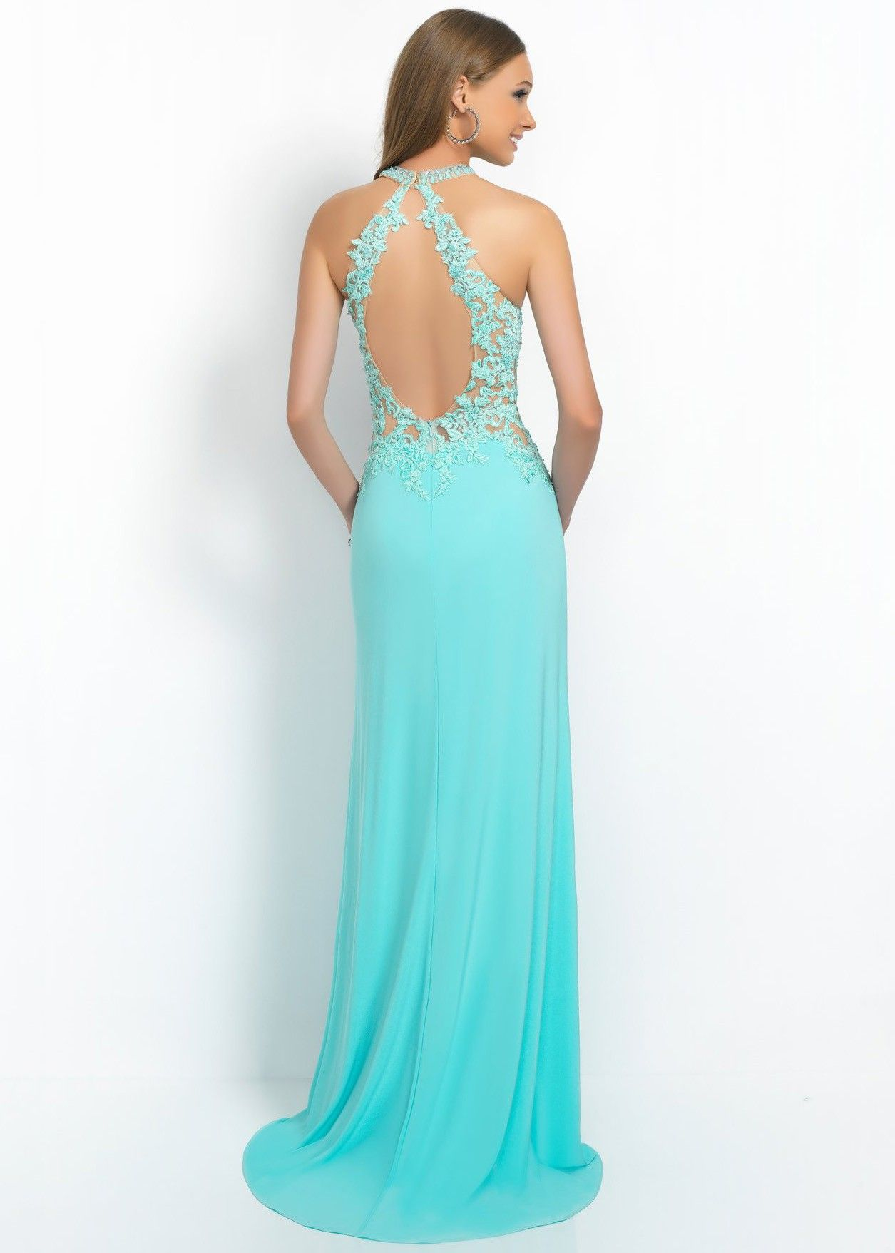 Intrigue 29 Lace Jersey Knit Gown   Prom dresses short   Pinterest ...