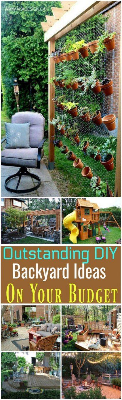Backyard Oasis On A Budget Diy Tips 65 Ideas #diy # ...