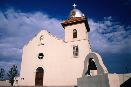 Ysleta Mission in El Paso. My sister, Christy, was married here ...