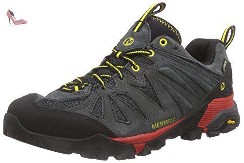 Merrell - Capra GTX - Chaussure de Randonnée - Basse - Homme - Gris (Granite) - 42 EU (8 UK) 5 Il0aFv1YtW