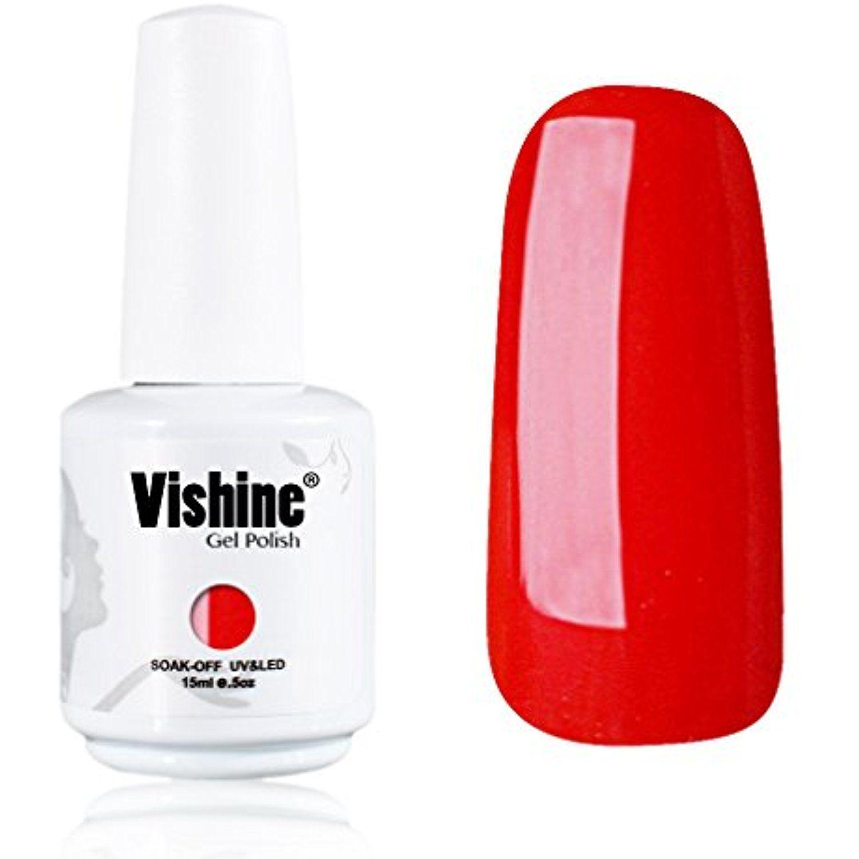 Vishine Gelpolish Lacquer Shiny Color Soak Off UV LED Gel Nail ...