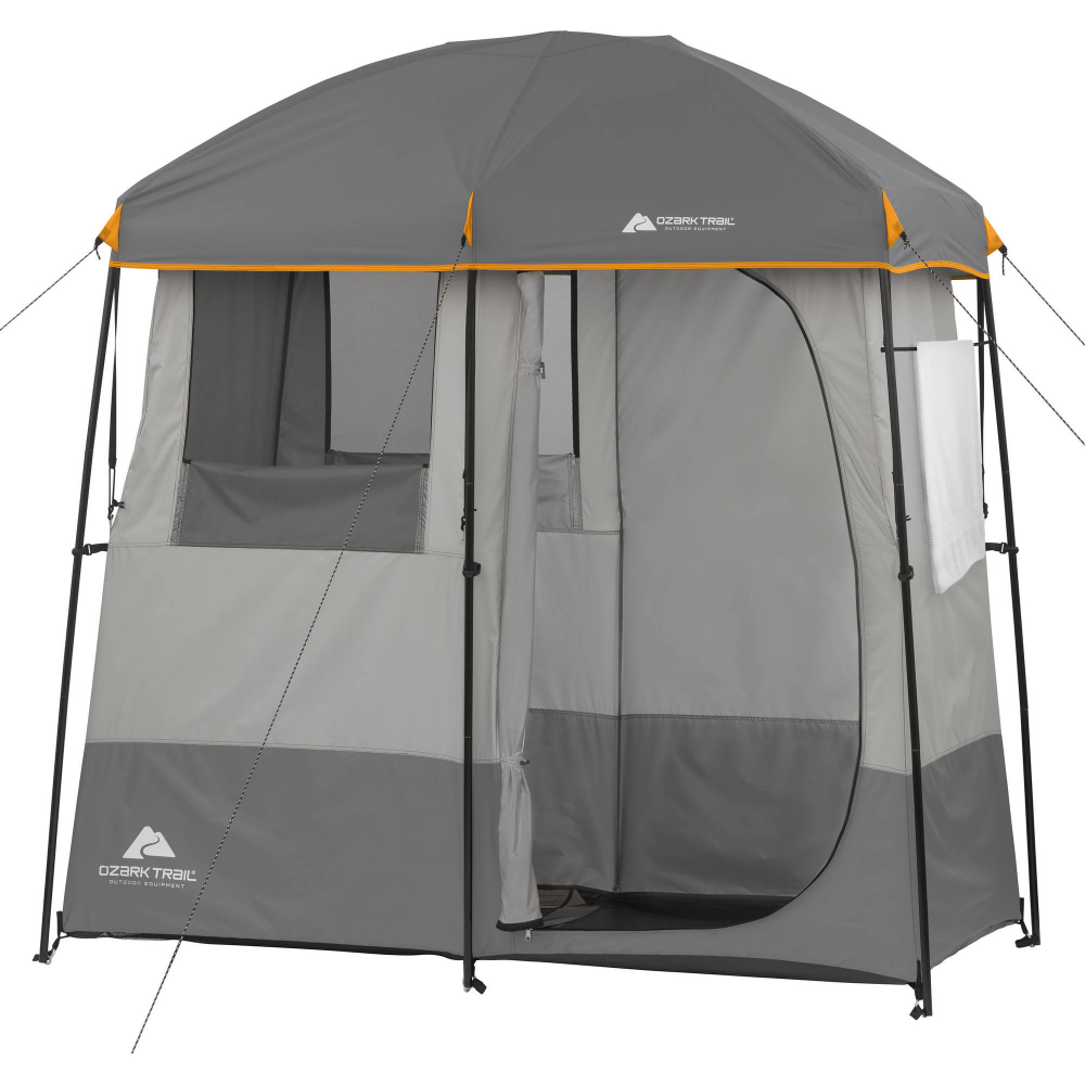 Ozark Trail 2-Room Non Instant Shower Tent Changing Room Outdoor Tents C&ing  sc 1 st  Pinterest & Ozark Trail 2-Room Non Instant Shower Tent Changing Room Outdoor ...