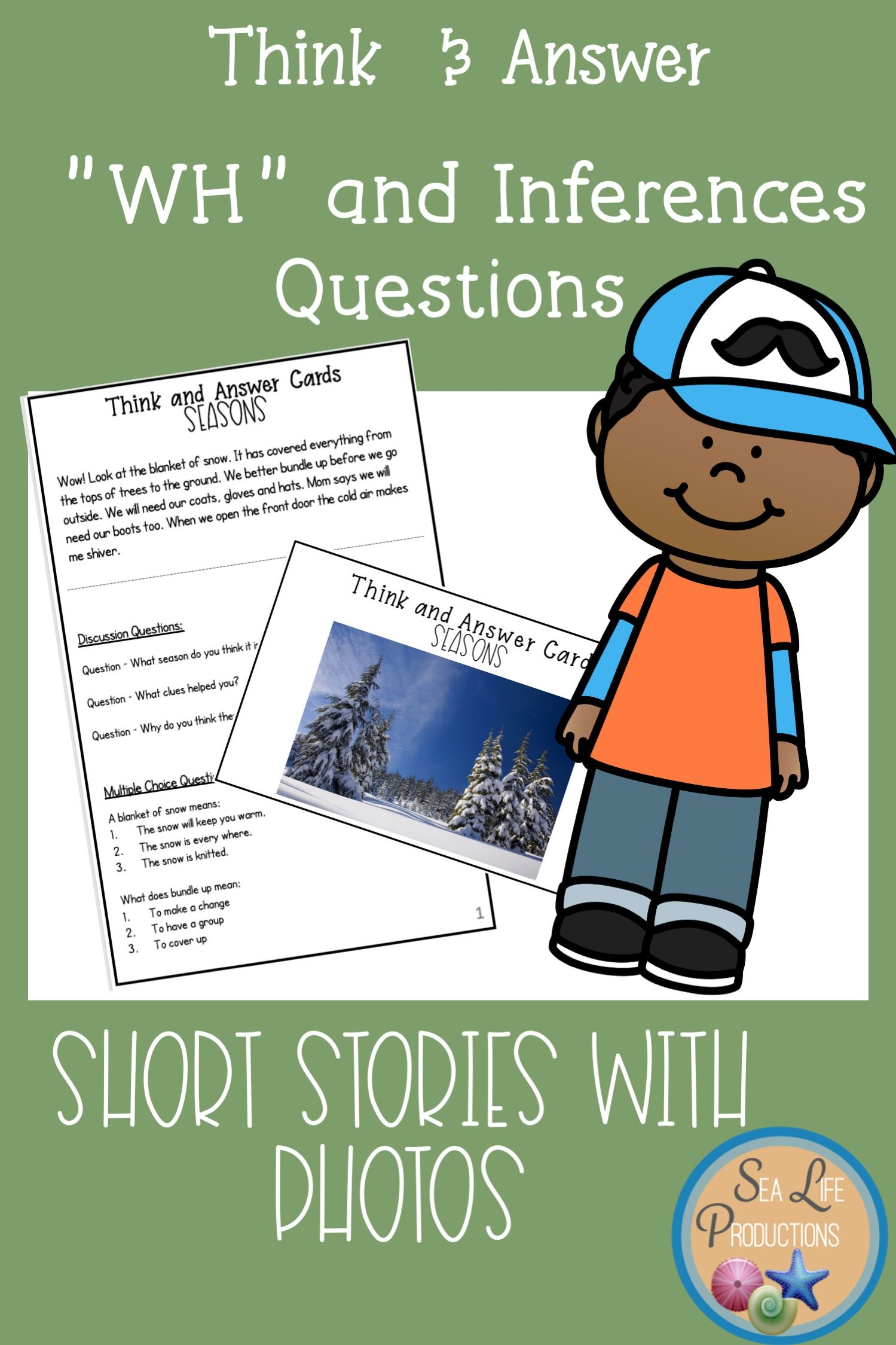 Inferencing With Wh Questions