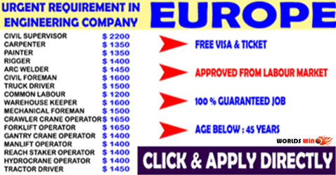 Company Hiring In Europe Submit Now Companies Hiring