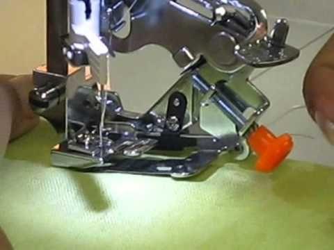 Video De Pie De Ruflez O Prensatela De Fruncir Pie Maquina De Coser Maquina De Coser Videos De Costura