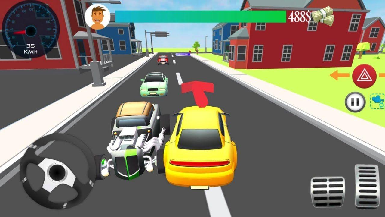 Real Car Taxi Driver Traffic Simulator 2017 3D 9