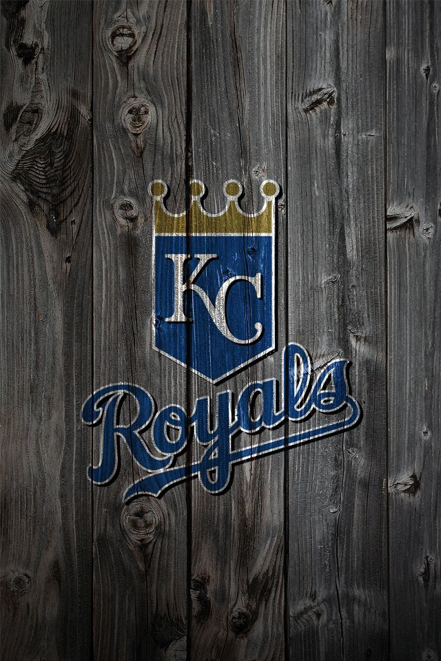 Kansas City Royals Wood iPhone 4 Background  KC ROYALS/CHIEFS