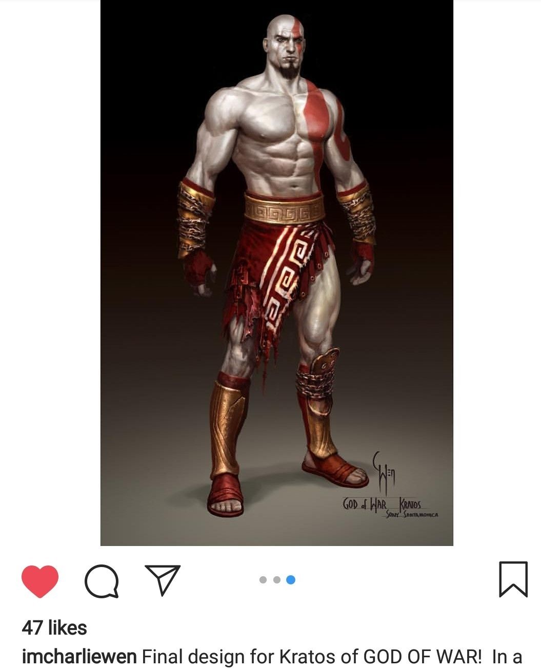 God Of War 1 Kratos God Of War Character Costumes