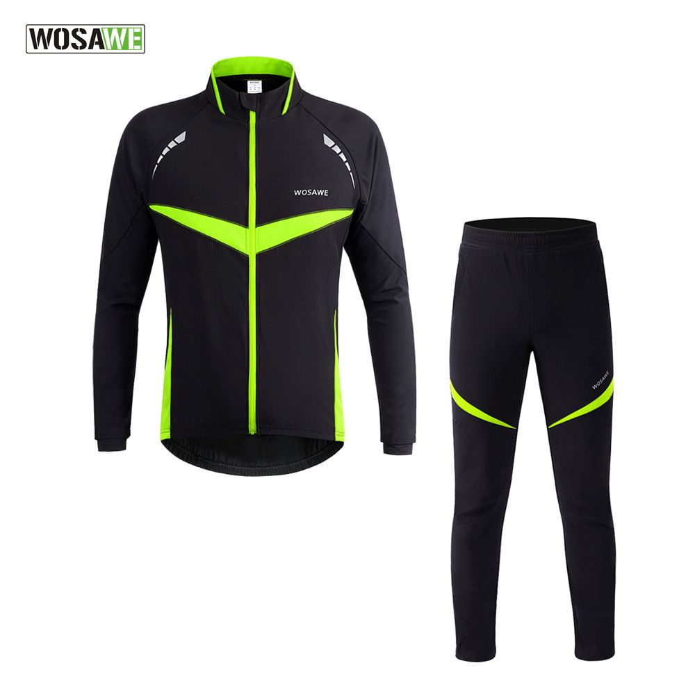 Men Women Cycling Jacket Waterproof Running Clothing Jersey Long Sleeve Coat