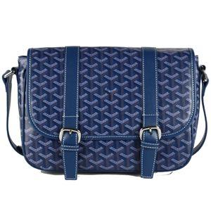 Goyard Messenger Shoulder Bag Navy Blue PM  e69f7ff316452