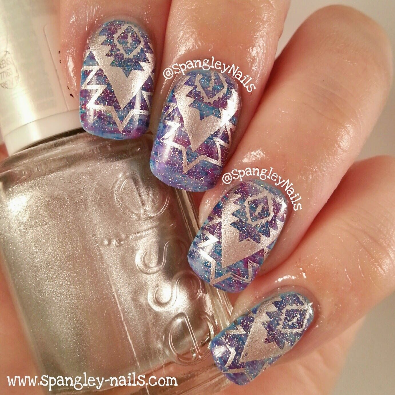 Uk Nail Art Blog Nail Art With Bite: UK Nail Art Blog: 1 Manicure; Worn 3 Ways