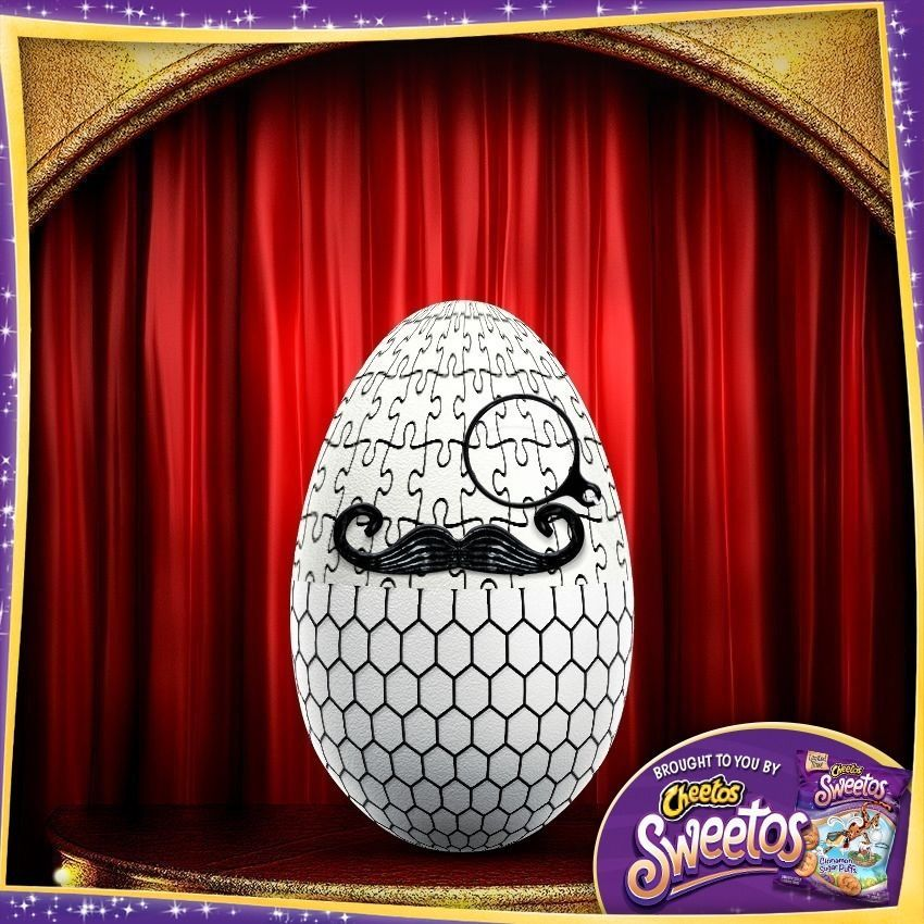 Check out this Easter egg from Chester's Eggerator and design your own for the chance to win $10,000! #Sweetos http://bit.ly/1ACa59G