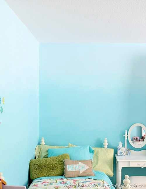 Lee Has Agreed To An Ombre Wall. Angels Are Singing. Tecnicas Para Pintar  ParedesDiseño ...
