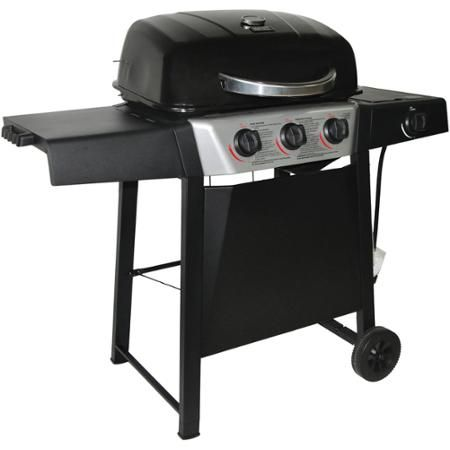 Backyard Grill 3-Burner Gas Grill with Side Burner ...