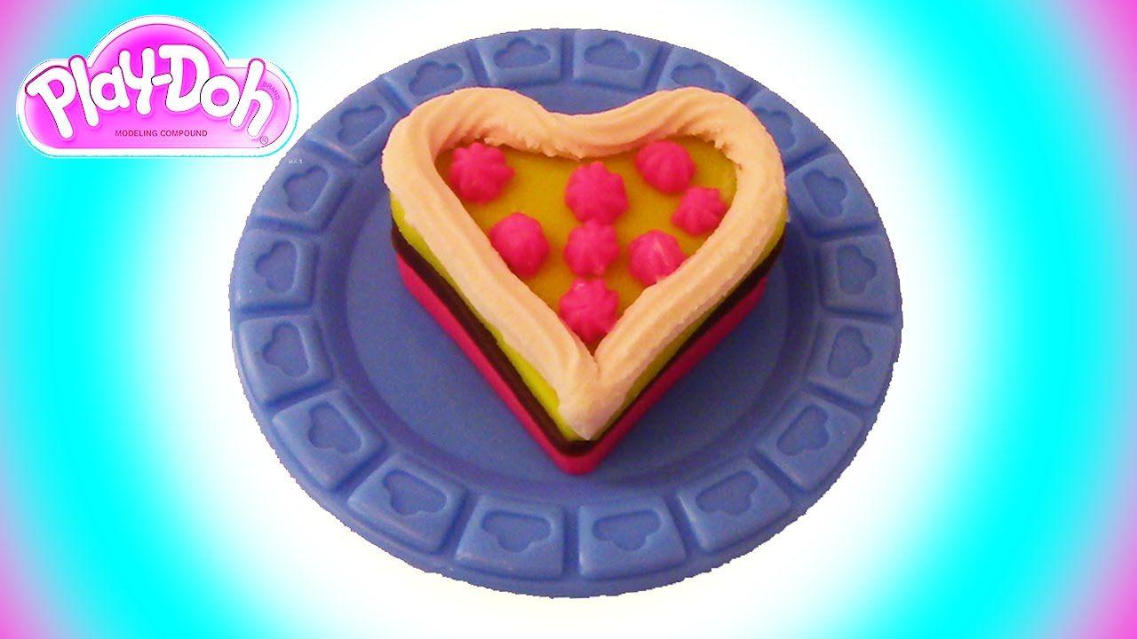 Play Doh Oyun Hamuru Kalp Pasta Yapimi Gida Play Doh Pasta