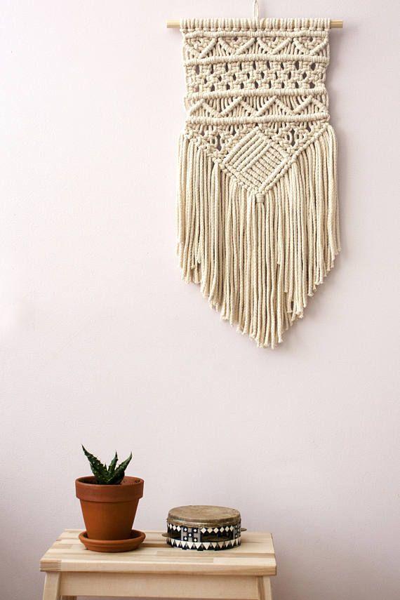 Macrame Wall Hanging, Woven Wall Hanging, Boho Wall Hanging, Wall Tapestry,  Woven Wall Tapestry, Macrame, Boho Home, Bohemian Wall Decor