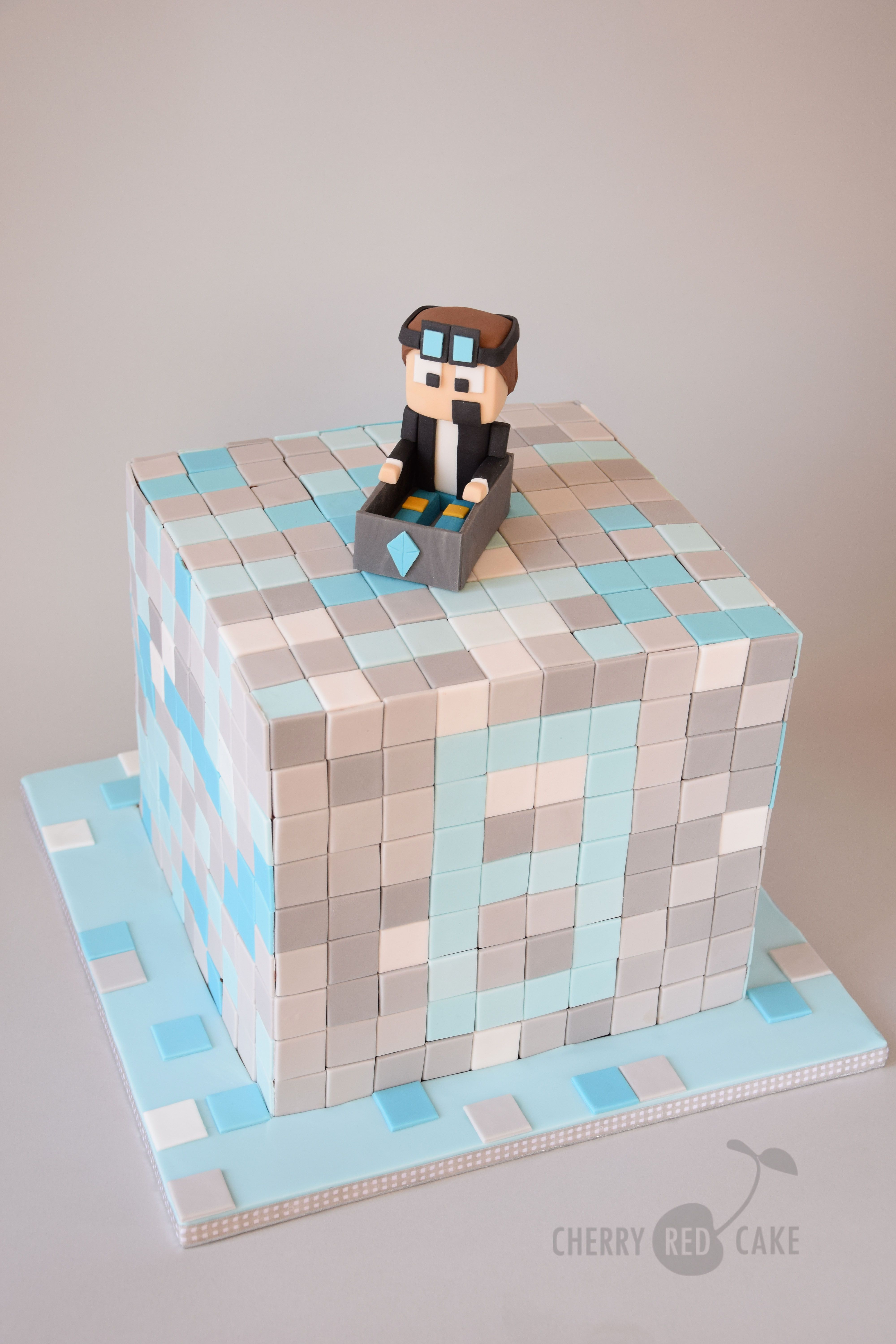 minecraft coloring pages cake - photo#28