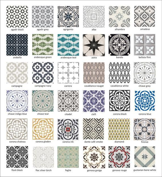 Photo of Tile Decals – Tiles for Kitchen/Bathroom Back splash – Floor decals – Vinyl Tile Sticker SAMPLES – Starting from 2.00 plus shipping