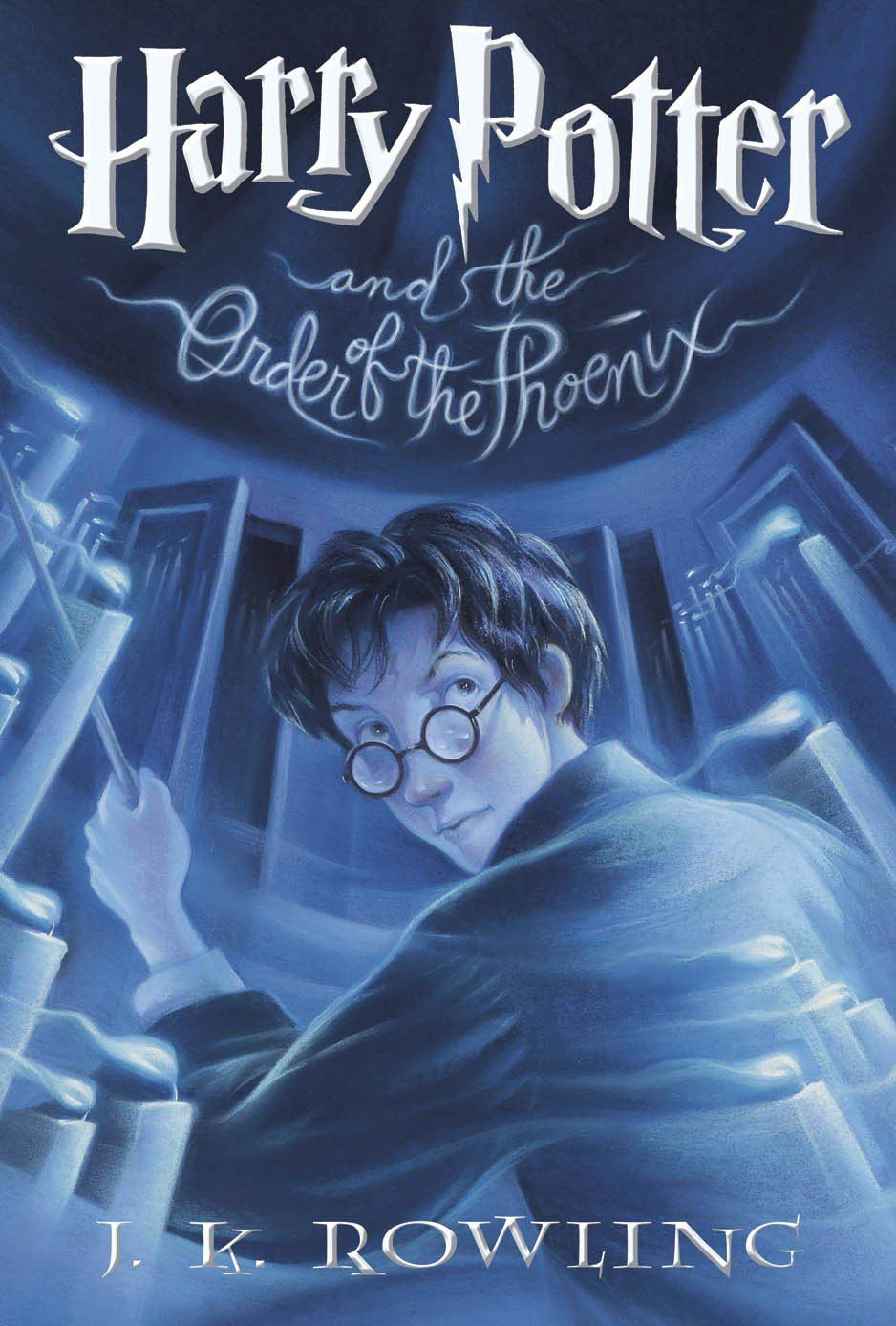 Rowling Harry Order Potter Phoenix Jk Covers Book