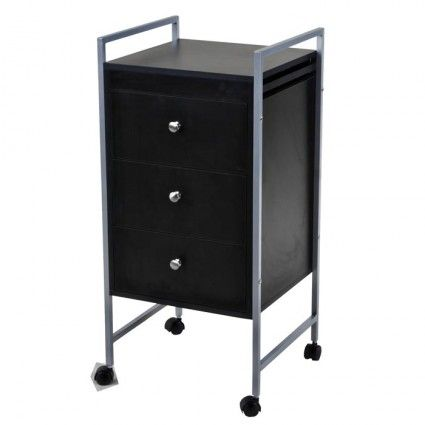 Office trolley with drawers.