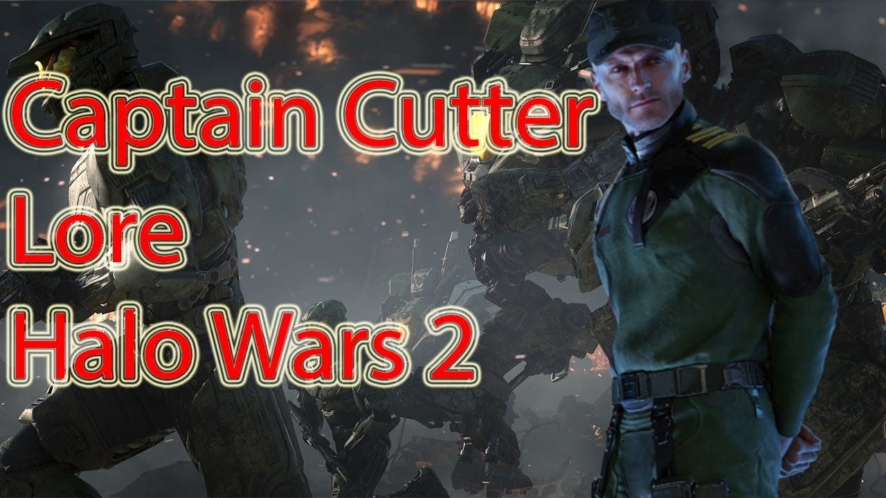 Captain Cutter Lore Halo Wars Universe Captain War Halo