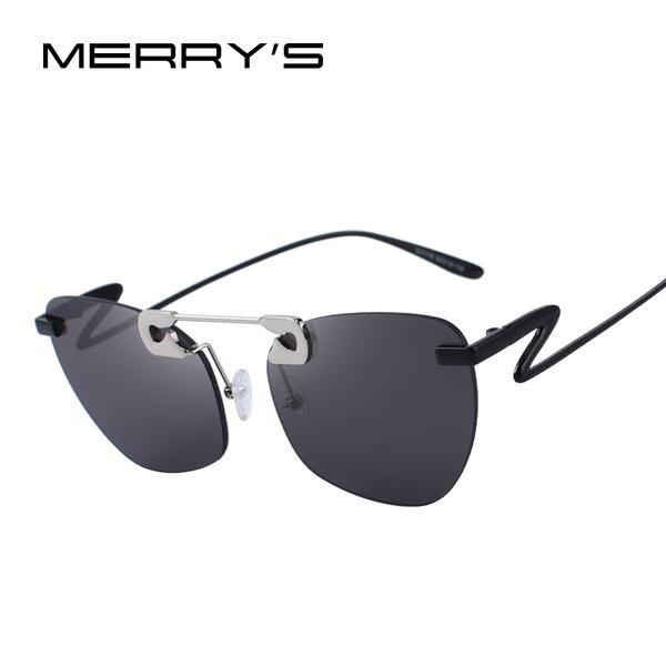 Merry'S Design Women Cat Eye Sunglasses Brand Designer Sunglasses Uv400 Protection S'6162