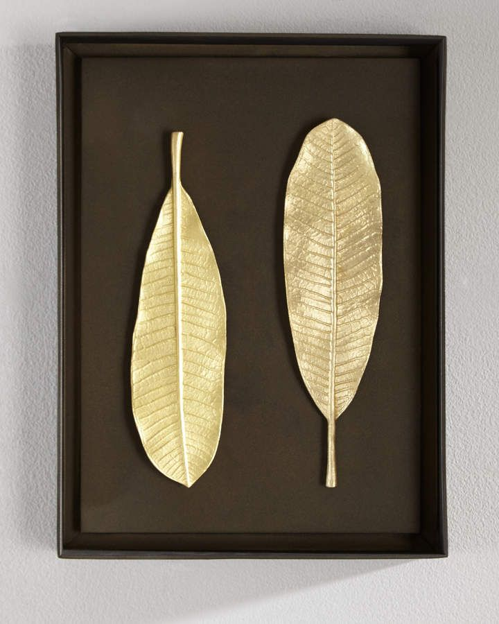 Champa Leaf Wall Art | Leaf wall art, Leaves and Walls