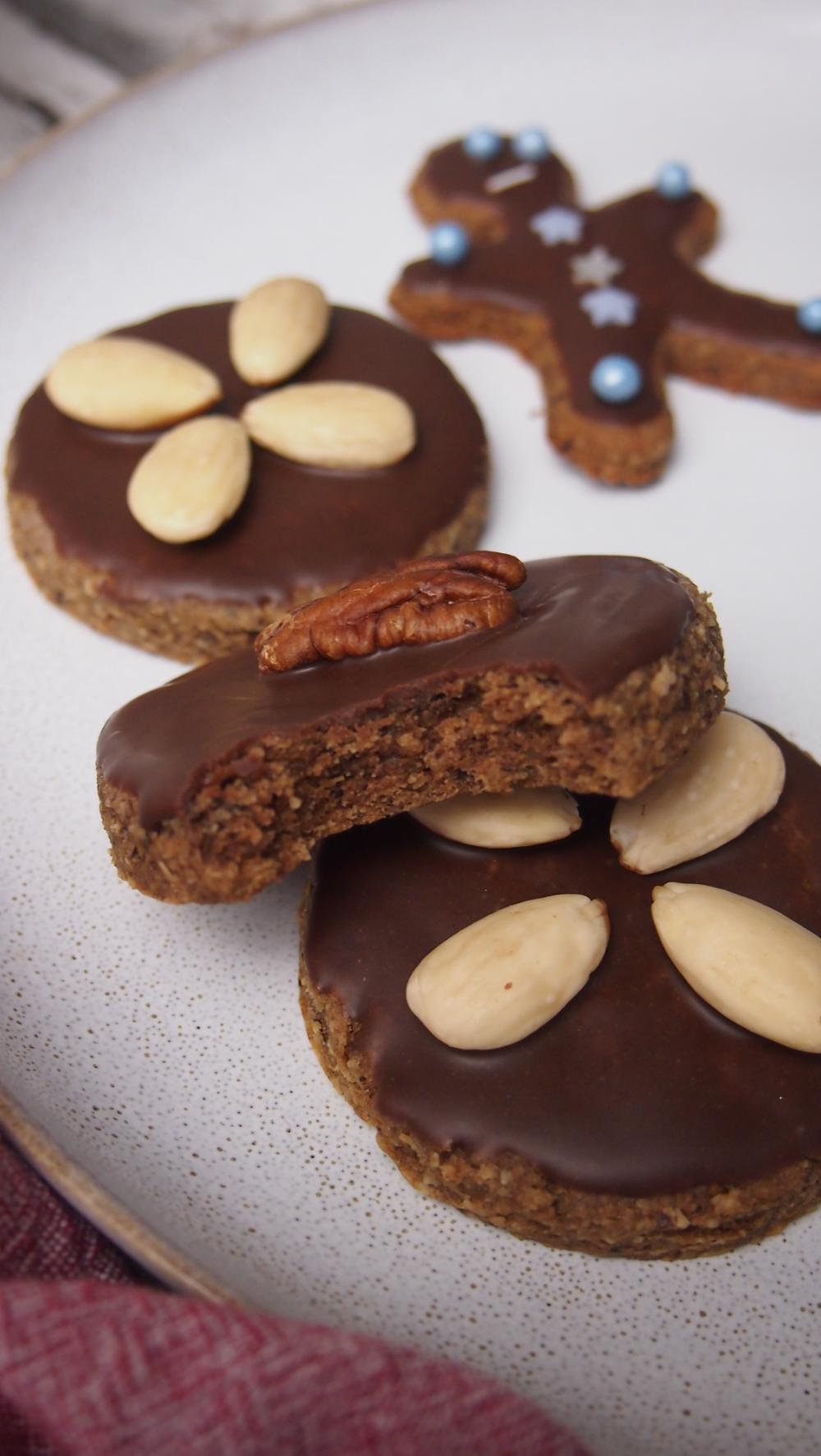 Photo of Weiche Lebkuchen ohne Zucker (vegan) – Bake it naked
