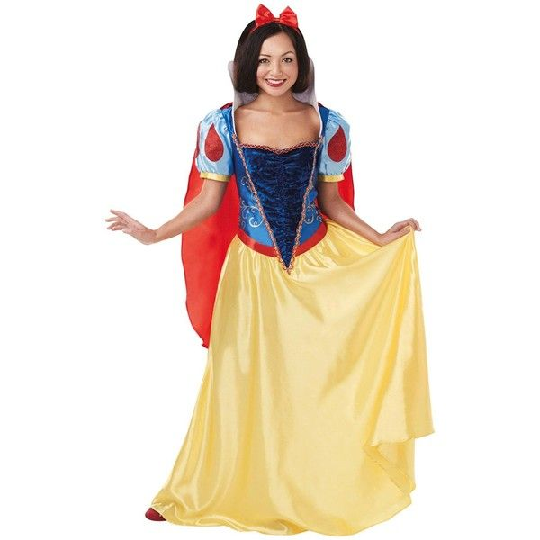 Disney Adult Snow White Costume (340 DKK) ? liked on Polyvore featuring costumes  sc 1 st  Pinterest & Disney Adult Snow White Costume (340 DKK) ? liked on Polyvore ...