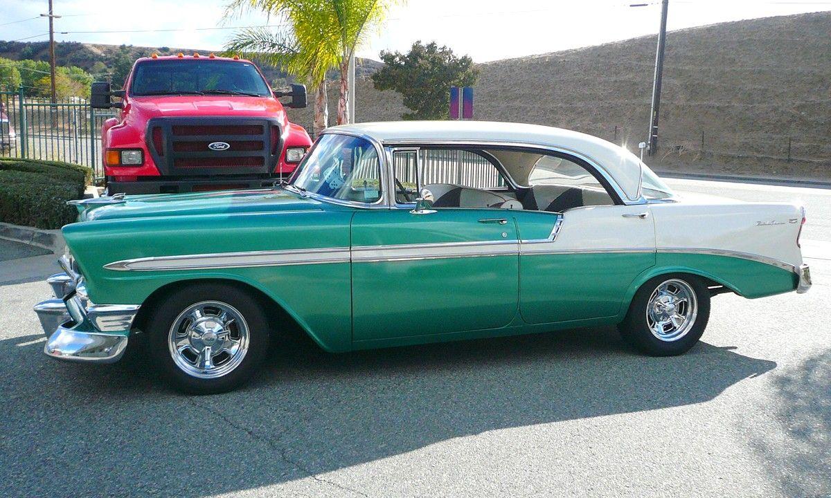 1956 Chevrolet Bel Air 4 Door Hardtop Chevy Bel Air 1956 Chevy Bel Air Chevrolet Bel Air